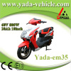 60v 800w 20ah 10inch disc brake mini sport style electric scooter motorcycle (yada em35)
