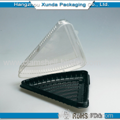 Triangle sandwich plastic box