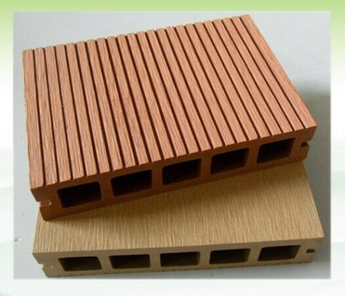 Wood plastic composite outdoor decking 145x30 from china for Plastic composite decking