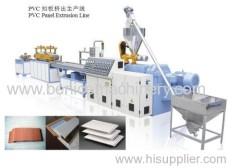 Interior PVC ceiling panel machine