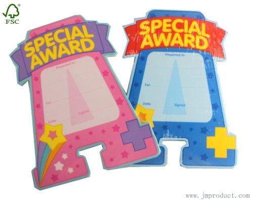 special award sticky note pads for kids