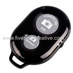 2014 Novo Bluetooth Wireless Shutter Controller Camera Remote Photo Control Temporizador para iPhone Samsung