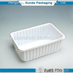 Plastic box for vegetables