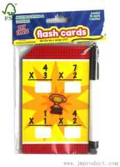 edcational math game cards for kids
