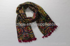 Polyester scarf printing scarf 2014