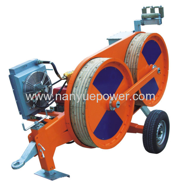 4 Ton Hydraulic Conductor Tensioner pulling fiber optic cable puller ...