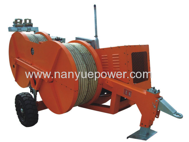 70kn Hydraulic Conductor Tensioner Tension Puller
