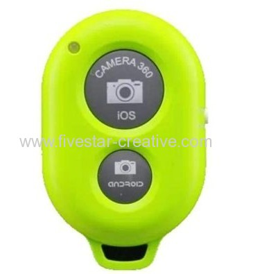 AB Shutter 3 Mini Bluetooth Remote Control Shutter Self-timer for iPhone iPad Samsung Android phones Green
