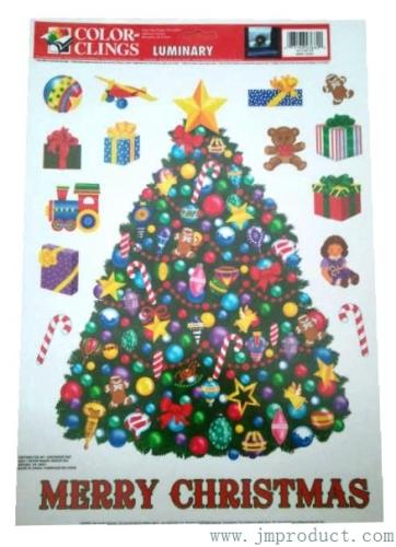 Christmas home decor sticker