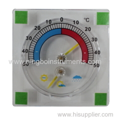 Window thermometer & hygrometer