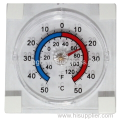 china cheapest window thermometer