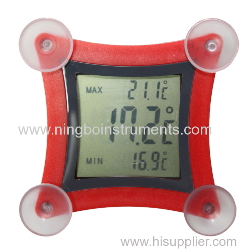 digital stick thermometer; digital window thermometer
