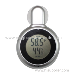 Digital window thermometer & Hygrometer