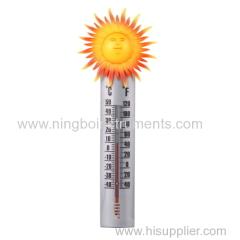 sunshine garden thermometer; garden thermometer
