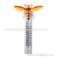 new garden thermometer; animal garden thermometer