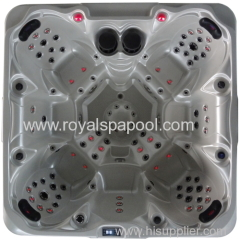 Balboa Hot Tub Hydro outdoor spa with fountain