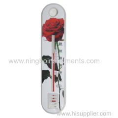 New plastic garden thermometer