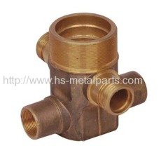 Investment casting Equipment oil pipe adapter