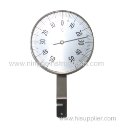 Aluminum Garden Thermometer; Garden Thermometer