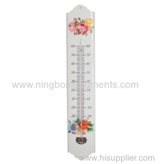 Metal Garden Thermometer; Metal Thermometer
