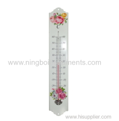Garden Thermometer; Metal Garden Thermometer