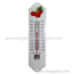 Metal Garden Thermometer; Metal Thermometers