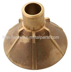 Investment casting supporting base