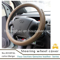 Car accessories hot selling Europe style auto steering wheel cover