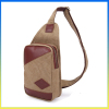 Cute canvas cross body satchel casual waist pack bosom bag