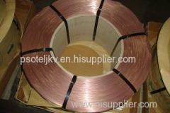 Uniform Coating 0.7% Sn Tyre Bead Wire for Vehicles 2160N Break Force 0.89mm