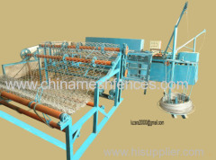 fully-automatic mechanical chain link fence mesh machine