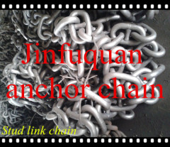 Black Colored Stud and Studless Link Ship Anchor Chain