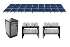 Solar Power System,100% Solar electric Power System, solar power, Off-grid Solar power system,New energy ,clean