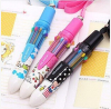 2014 Hot-selling 10 colors ball point pen with high quality and low price