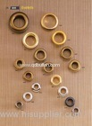 #28 Round head metal brass eyelets with nickle free