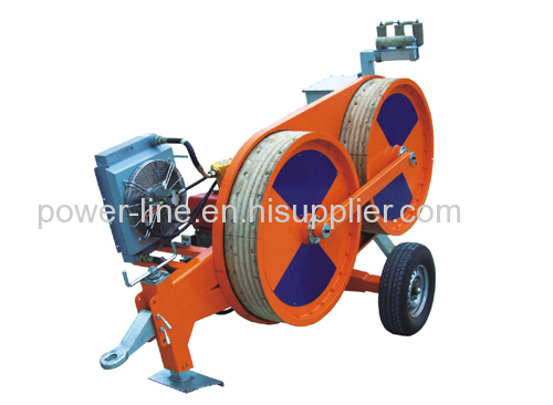 Conductor OPGW ADSS optic fiber cable Tension stringing equipment