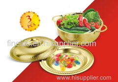 Multi-Function Fruit Basin 3PCS set