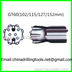 GT60 thread rock drill bit