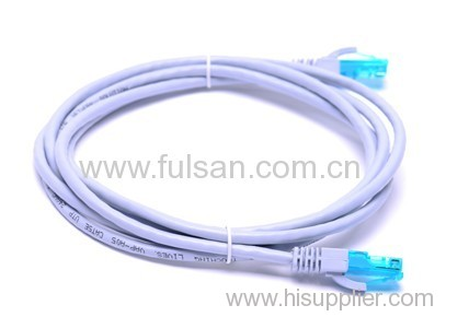 UL/CCC/CE/ROHS approved UTP/STP/FTP standard cat5e systimax cat6 patch cord