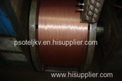 Uniform Coating Steel Wire Ropes Reinforcement for Oil Drilling 38 Torsion 1.60mmHT