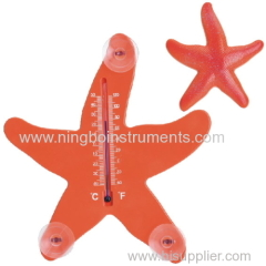 Starfish Window Thermometer; Animal Window Thermometer