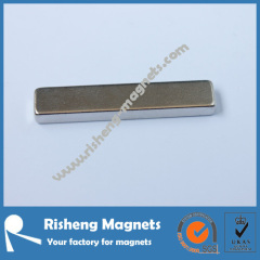 China Manufacturer for Super Strength Neodymium Block Magnets N42SH 50.8 x 12.7 x 6.35mm Industrial Magnets