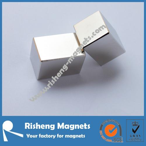 36 x 35 x 12.5mm Rare Earth Neodymium Big Block Magnet N30UH super high temperature resistant