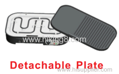 detachable plate cooking plate