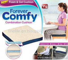 Gel cushion & Forever Comfy Cushion as seen on TV
