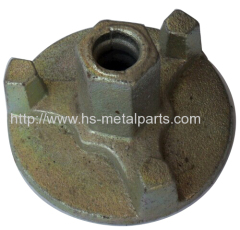 Investment casting Construction parts round gasket