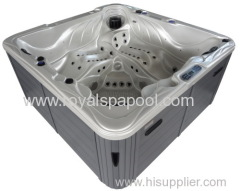 5 Person 95 Jets Outdoor jacuzzi hot tub with Pop Up TV