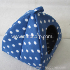 cute and colorful fabric pet house, small footprint design foldable cat house