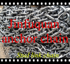 Marine Stud or Studless Stud Link Anchor Chain