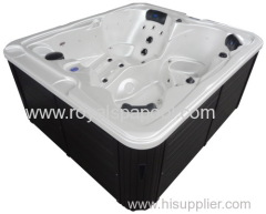 Europe deluxe 4 persons whirlpool massage spa outdoor spa